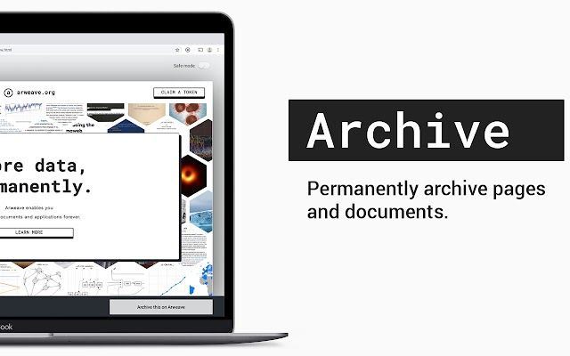 Arweave archive pages